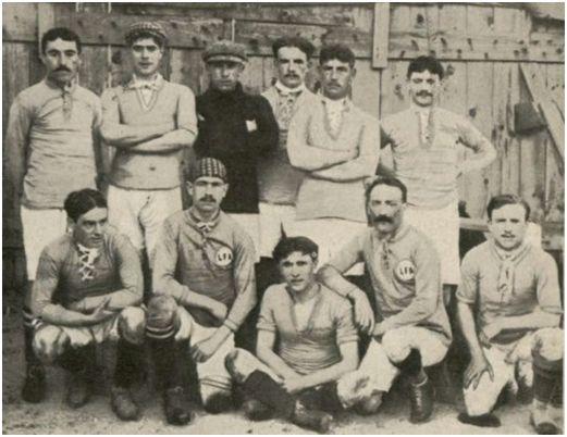 Cipriano Prada, un jarrero en la primera Selección Española de Fútbol 3
