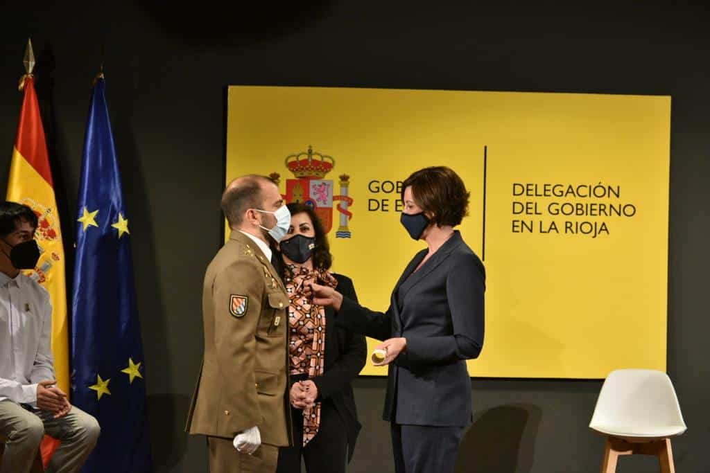 Pablo Alcaide y Marcos García reciben las Medallas al Mérito de Protección Civil 2