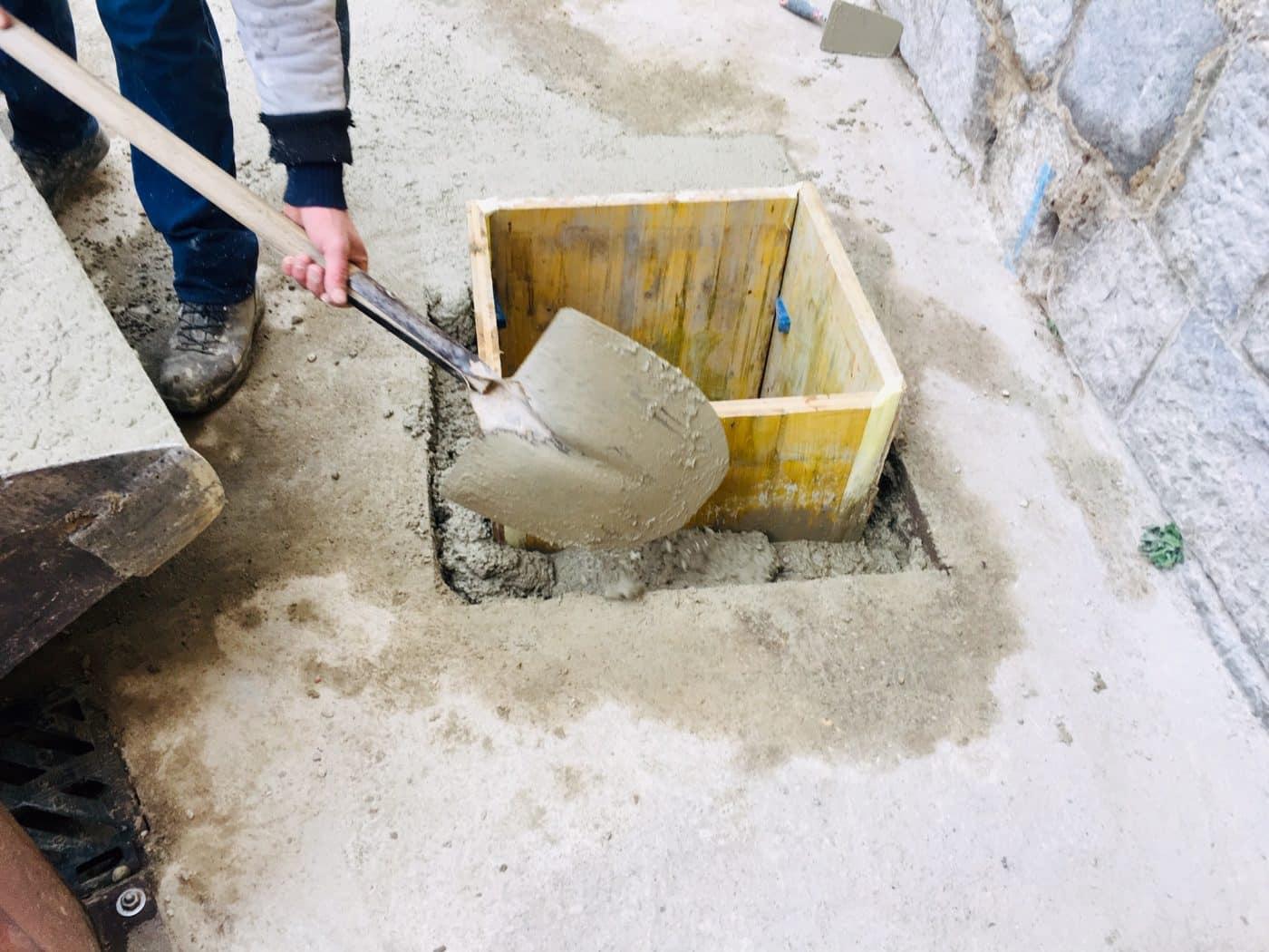 Haro renueva la red de saneamiento del Colegio San Felices 1
