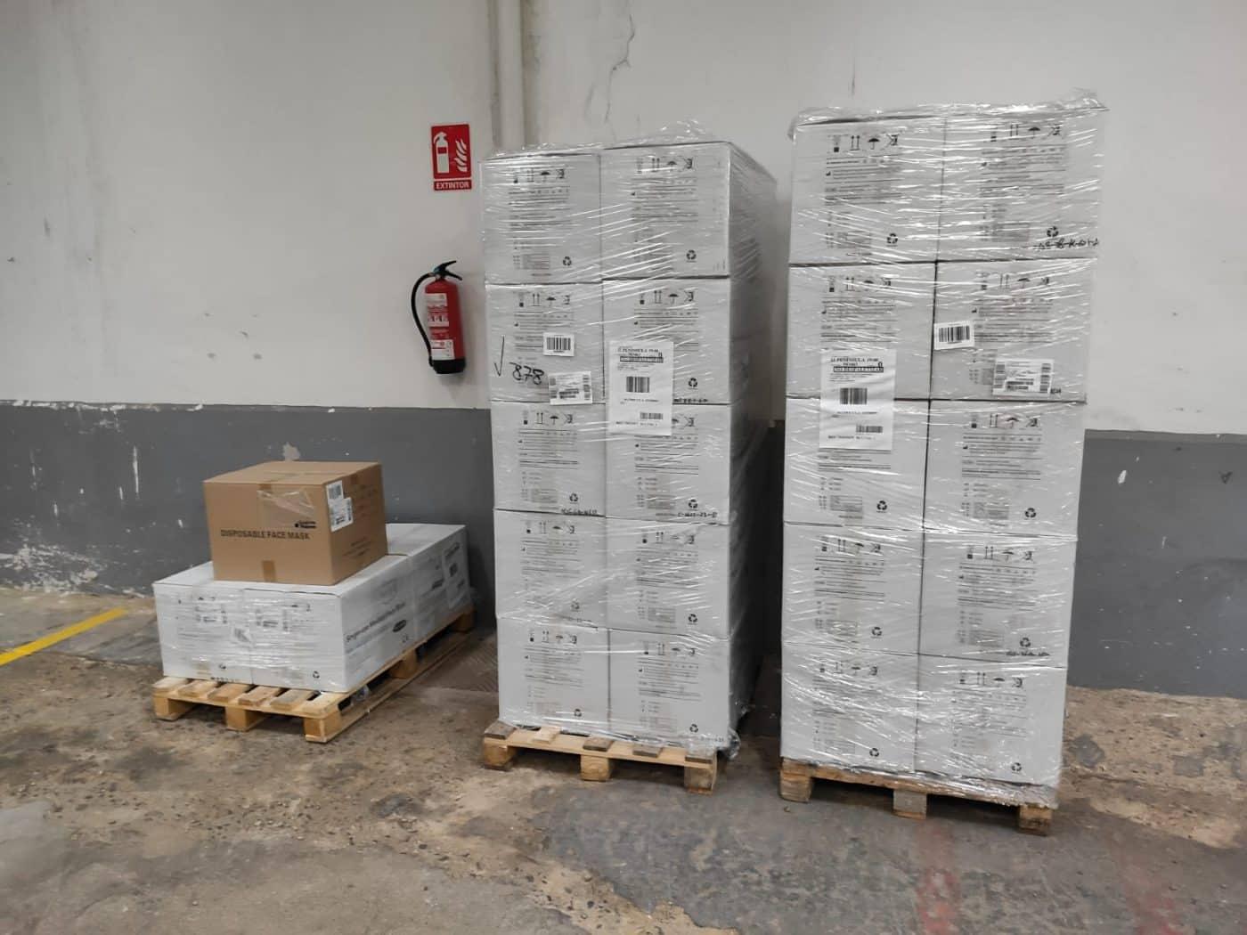 La Delegación del Gobierno reparte 90.000 mascarillas entre los colectivos vulnerables de La Rioja 1