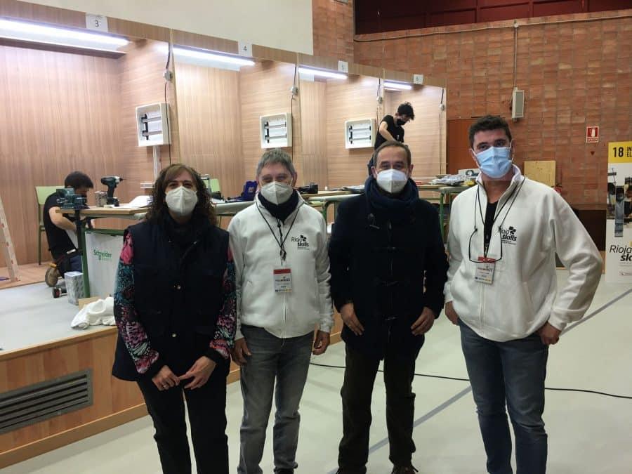 Los alumnos del IES Rey Don García de Nájera ya compiten en el RiojaSkills 3