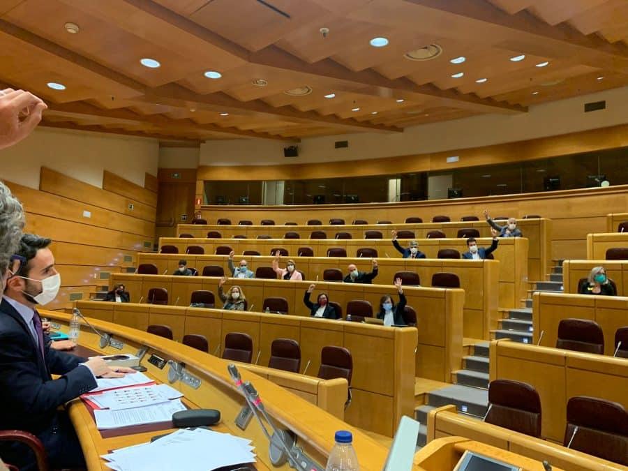 El proyecto de Geoparque recibe el apoyo del Senado y del Parlamento riojano para impulsar las huellas de dinosaurio 1