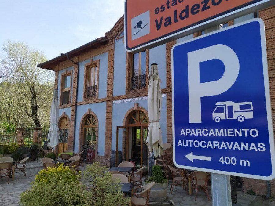 Ezcaray abre su aparcamiento de autocaravanas con 30 plazas 2