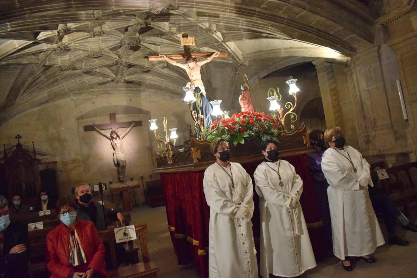 FOTOS: Continúan en Haro los actos de la Semana Santa 11