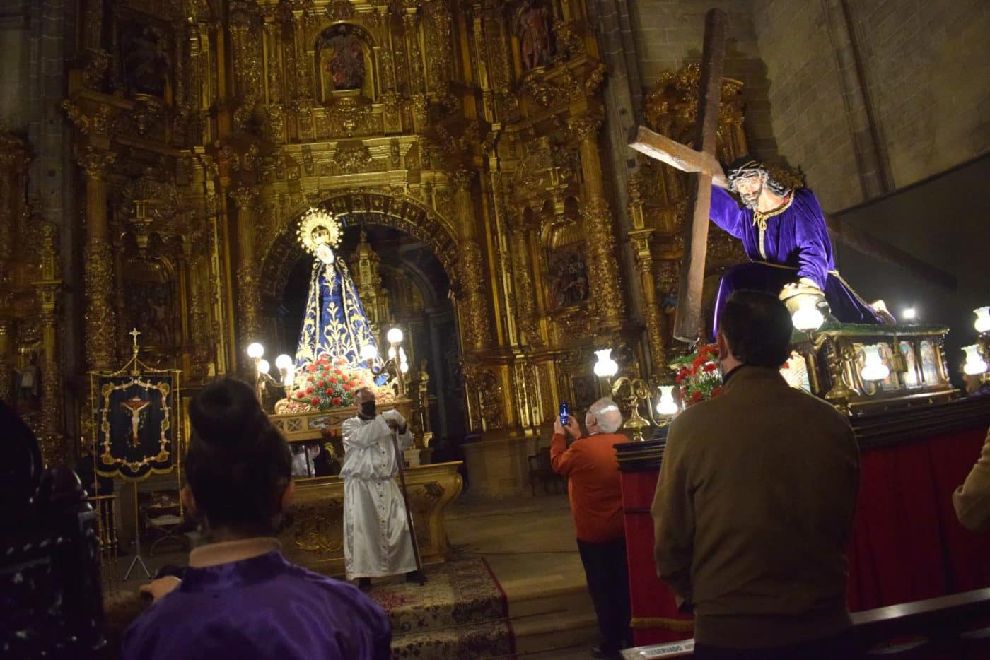 FOTOS: Continúan en Haro los actos de la Semana Santa 22