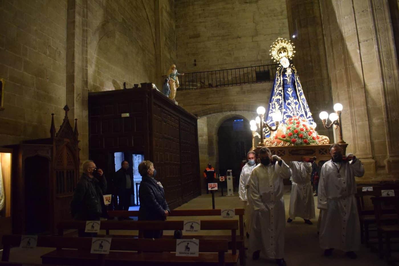 FOTOS: Continúan en Haro los actos de la Semana Santa 5