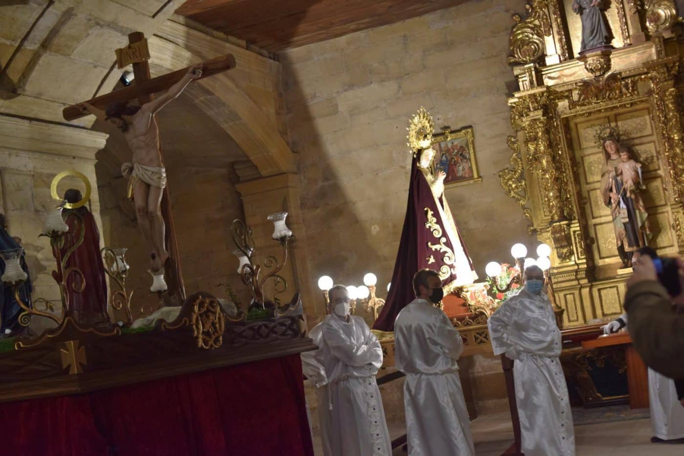 FOTOS: Continúan en Haro los actos de la Semana Santa 7