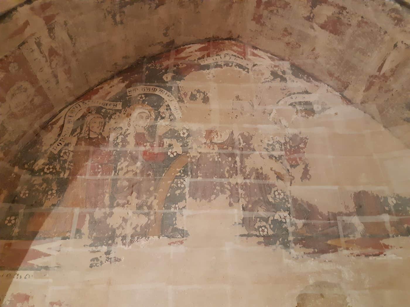 El PSOE La Rioja presenta una PNL para la restauración de las pinturas murales de Castilseco 1
