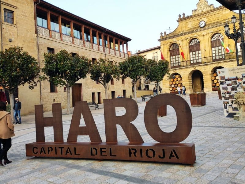 Plaza de la Paz de Haro