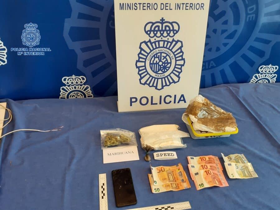 Detenida una mujer en la estación de autobuses de Logroño con 500 gramos de 'speed' 1