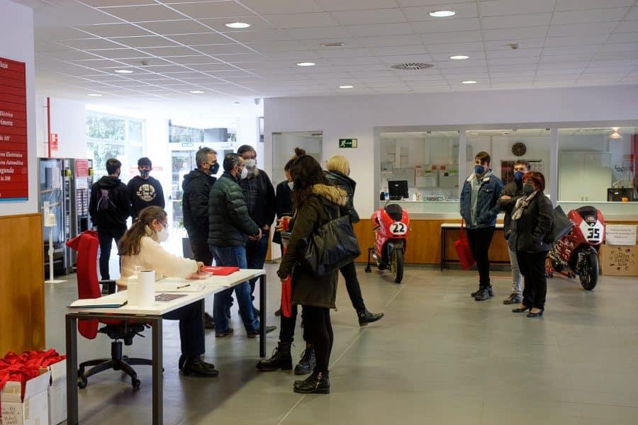 370 alumnos y sus familas visitan la UR en la jornada de puertas abiertas 2