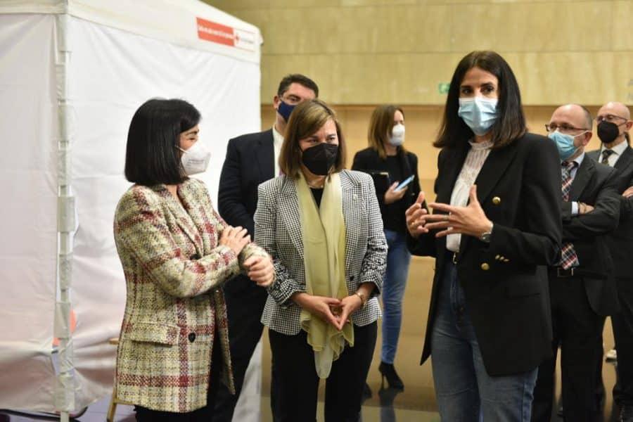 Darias anuncia en La Rioja la llegada de 1,7 millones de vacunas de Pfizer cada semana 18