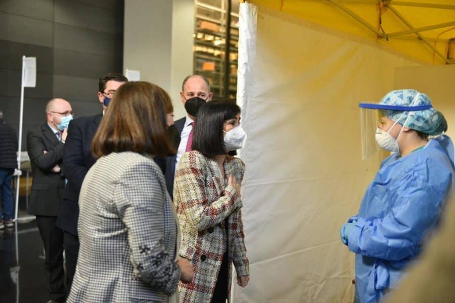 Darias anuncia en La Rioja la llegada de 1,7 millones de vacunas de Pfizer cada semana 17