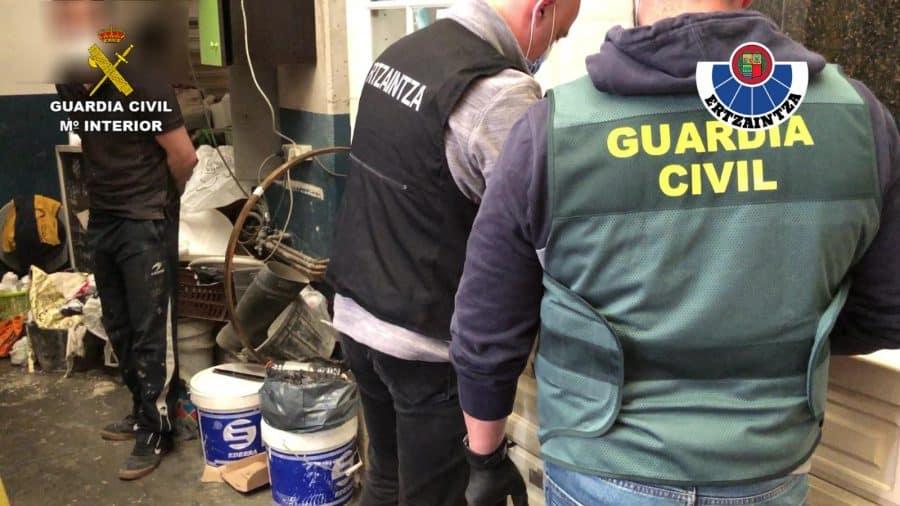 Desarticulan en Gorliz un punto de venta de drogas que abastecía a La Rioja 3