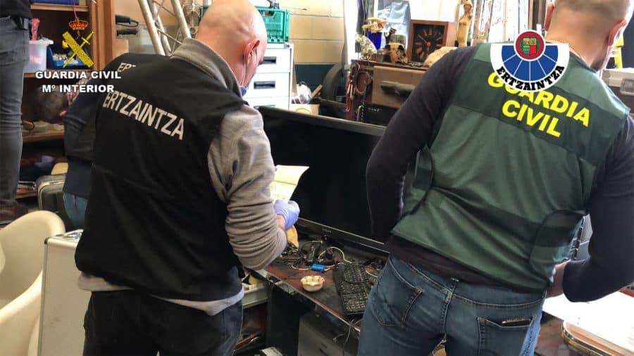 Desarticulan en Gorliz un punto de venta de drogas que abastecía a La Rioja 9