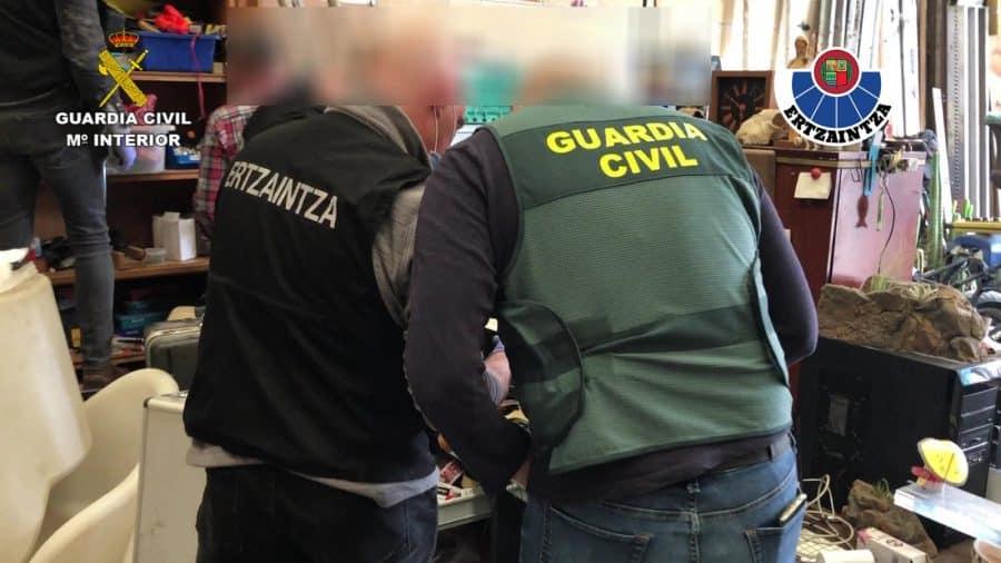 Desarticulan en Gorliz un punto de venta de drogas que abastecía a La Rioja 6