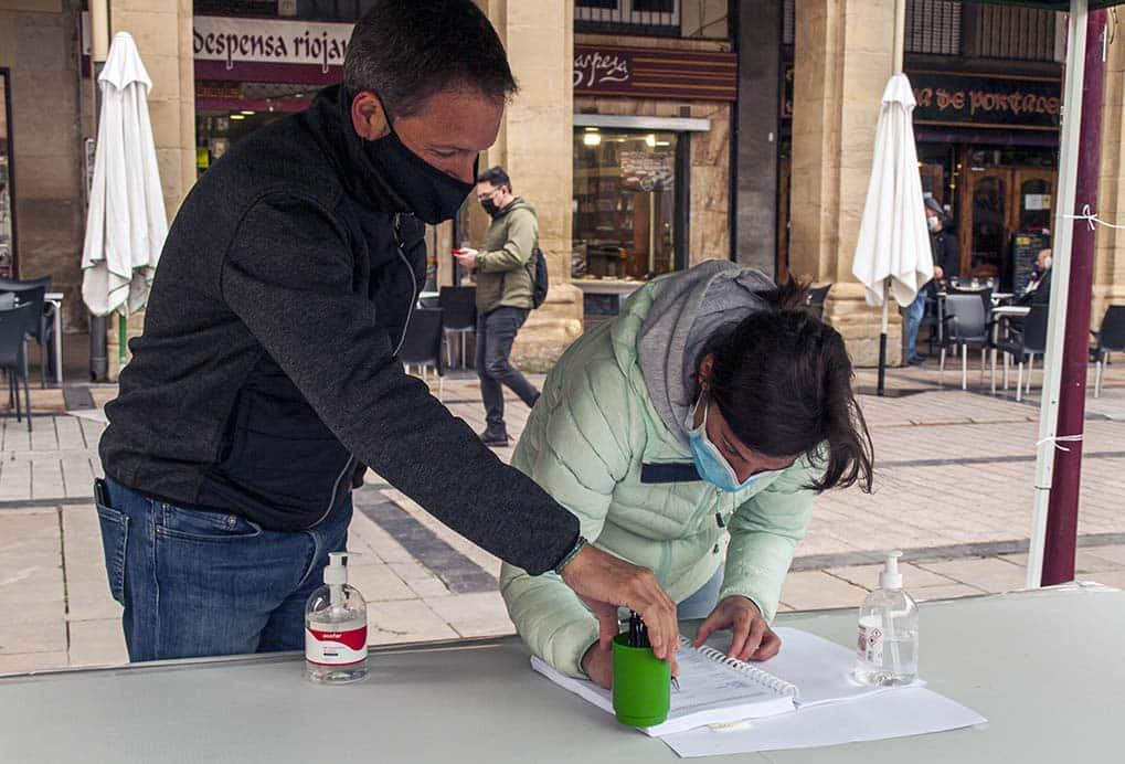 """""""Gran éxito"""" en la recogida de firmas para la ILP de la Ley de Caza de La Rioja 2"""