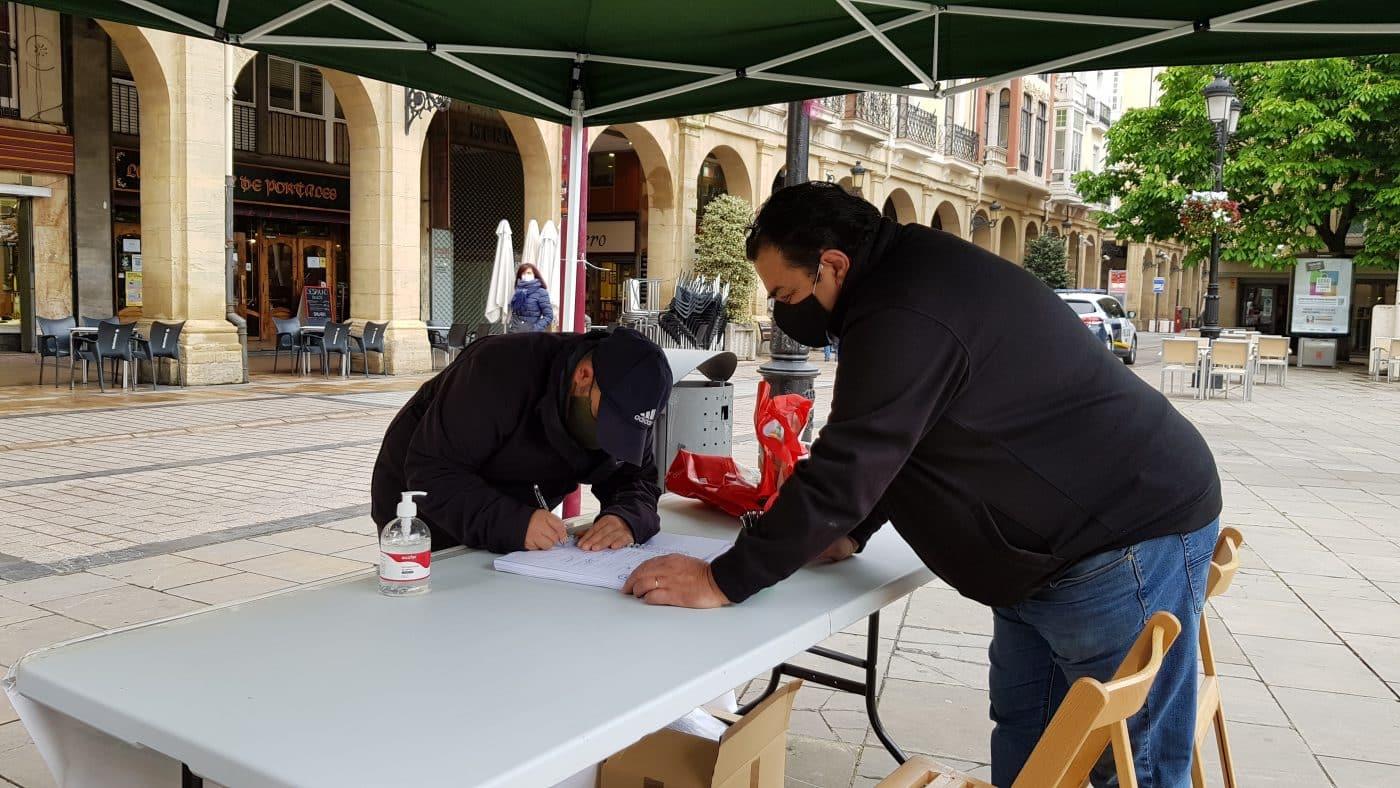 """""""Gran éxito"""" en la recogida de firmas para la ILP de la Ley de Caza de La Rioja 4"""