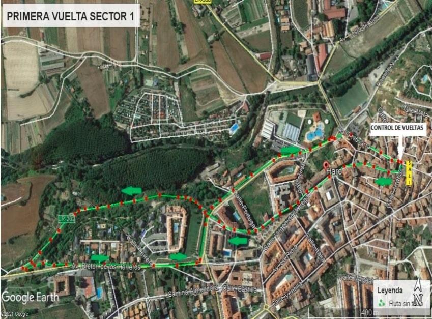 Haro acogerá el Campeonato de La Rioja de Duatlón por equipos 3