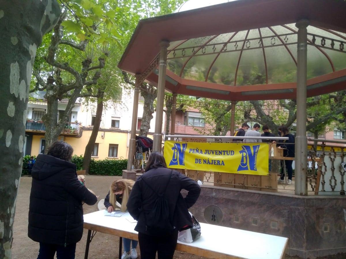 La Peña Juventud de Nájera convierte San Prudencio en una fiesta de la solidaridad 1
