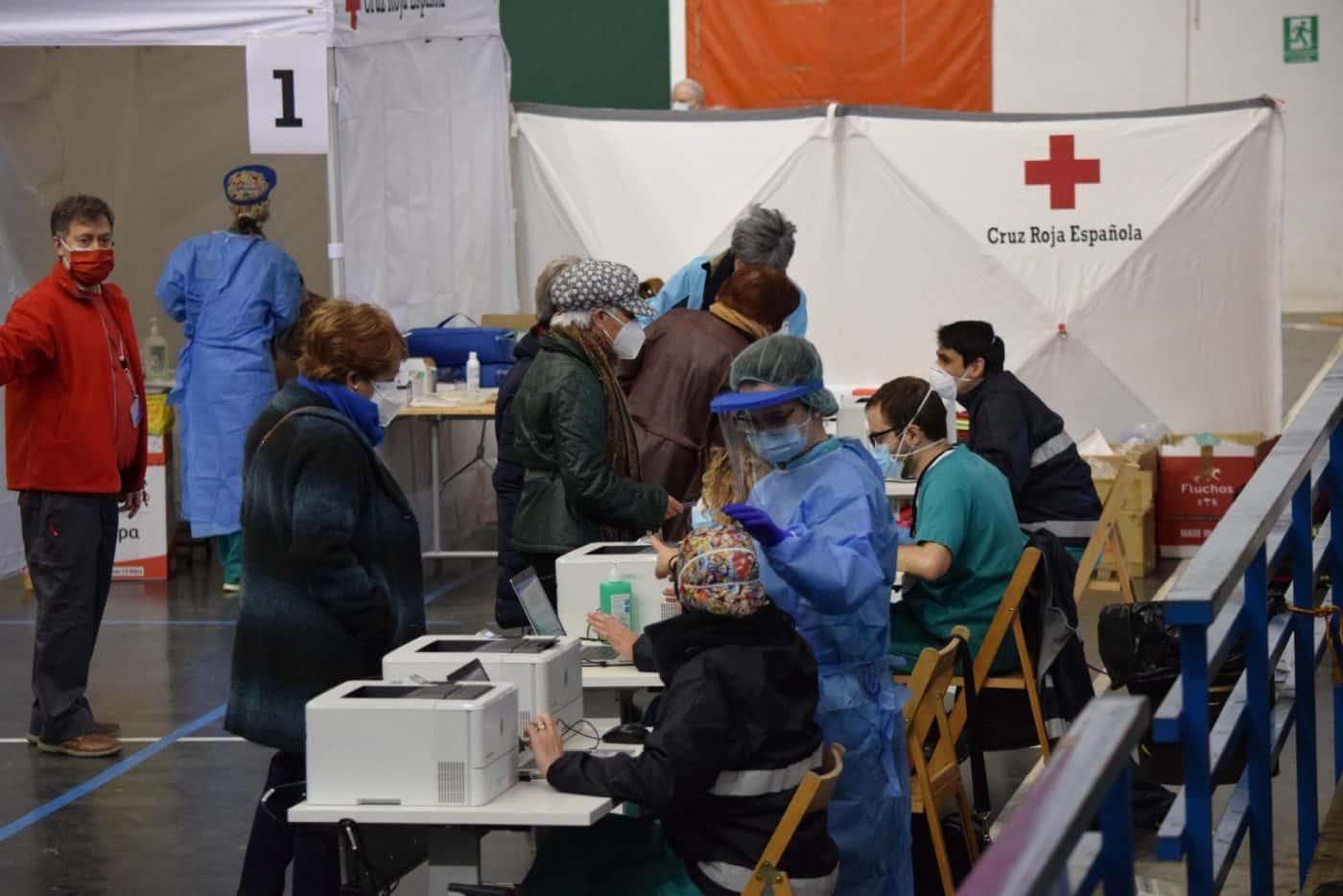 Vacunación en Haro