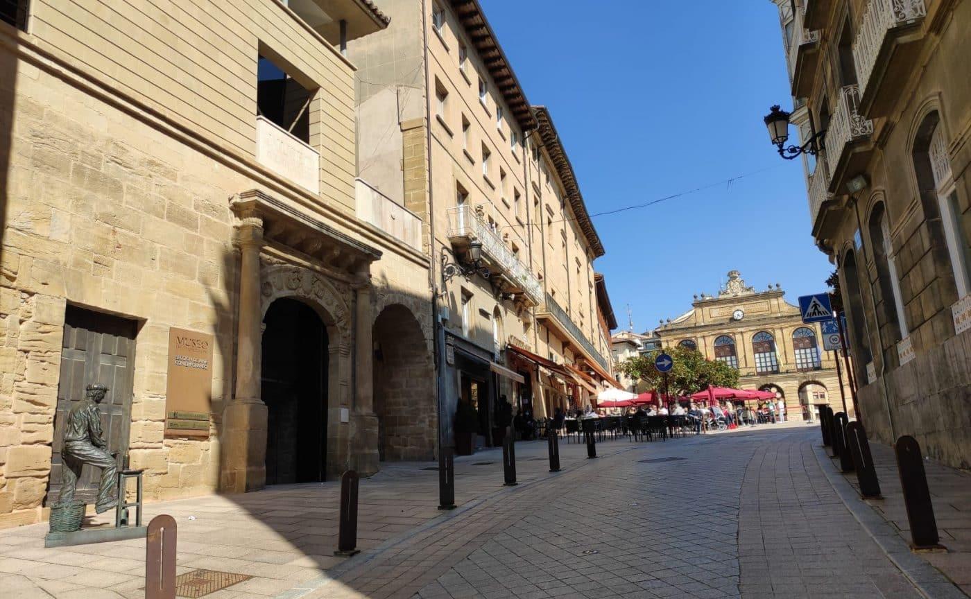 Calle Navarra en Haro