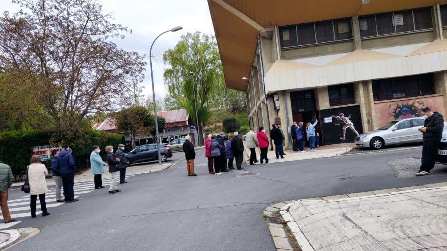 Se inicia en Haro la vacunación a personas de 70 a 79 años 9