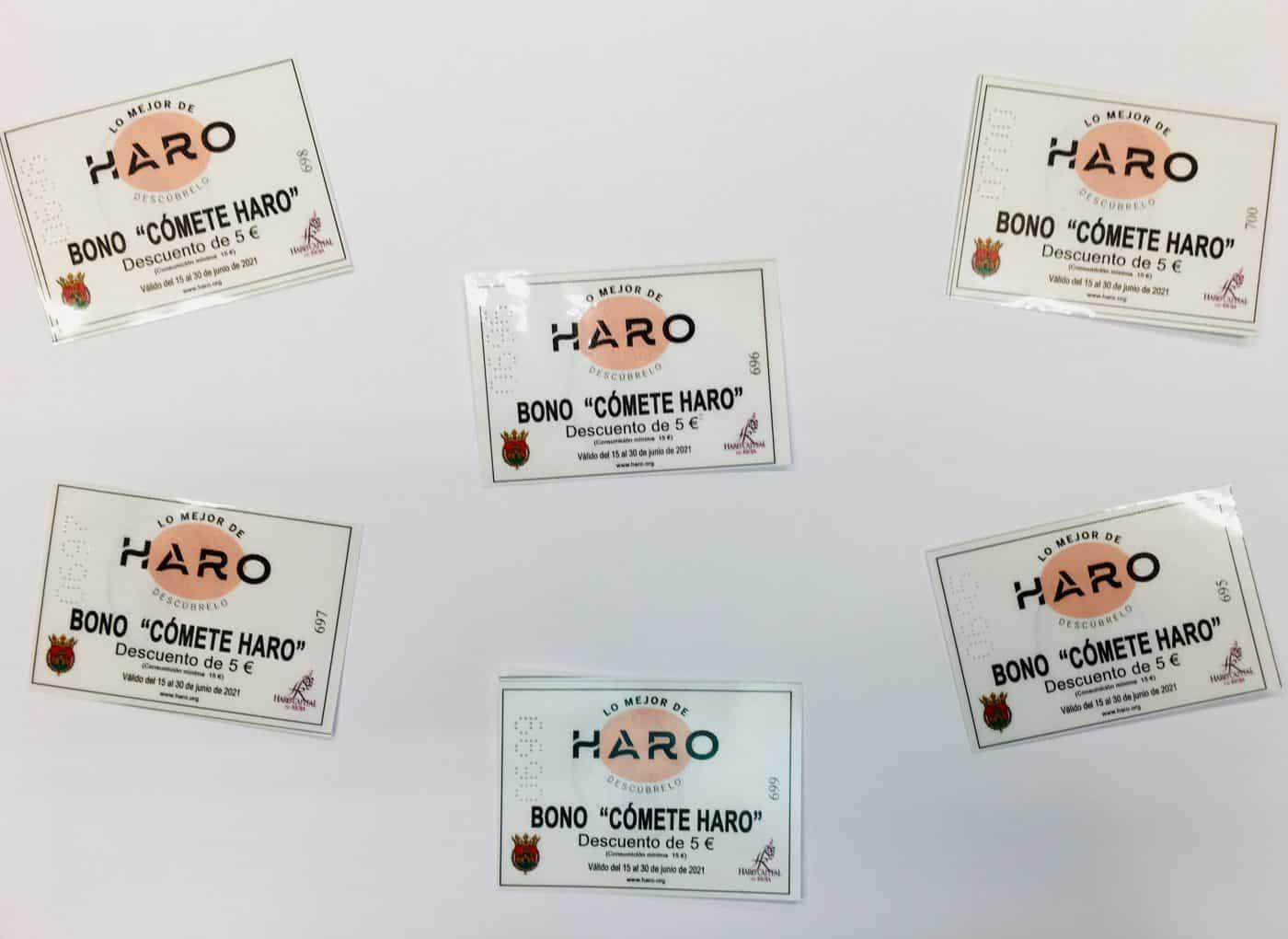 'Cómete Haro': Nueva campaña de bonos del Ayuntamiento para apoyar a la hostelería 1