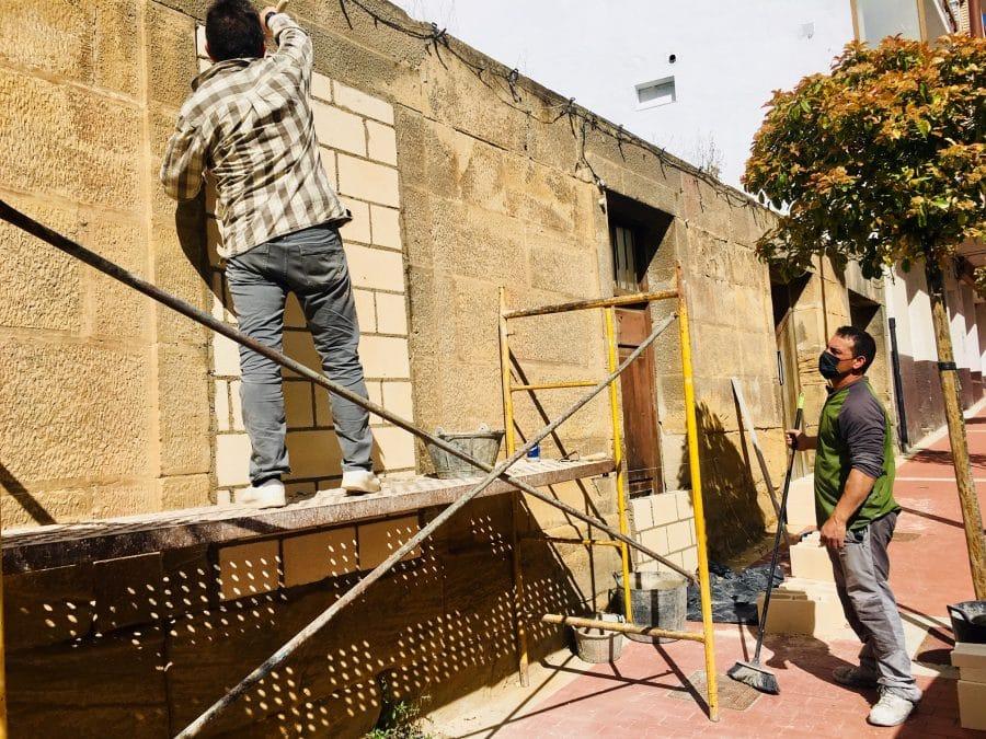 Haro inicia obras de acondicionamiento en dos solares de las calles Navarra y San Felices 2