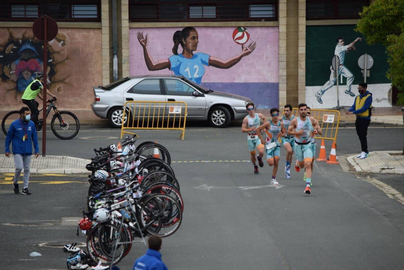 FOTOS: Tritones y Cafés Foronda se imponen en el I Duatlón de Haro 34