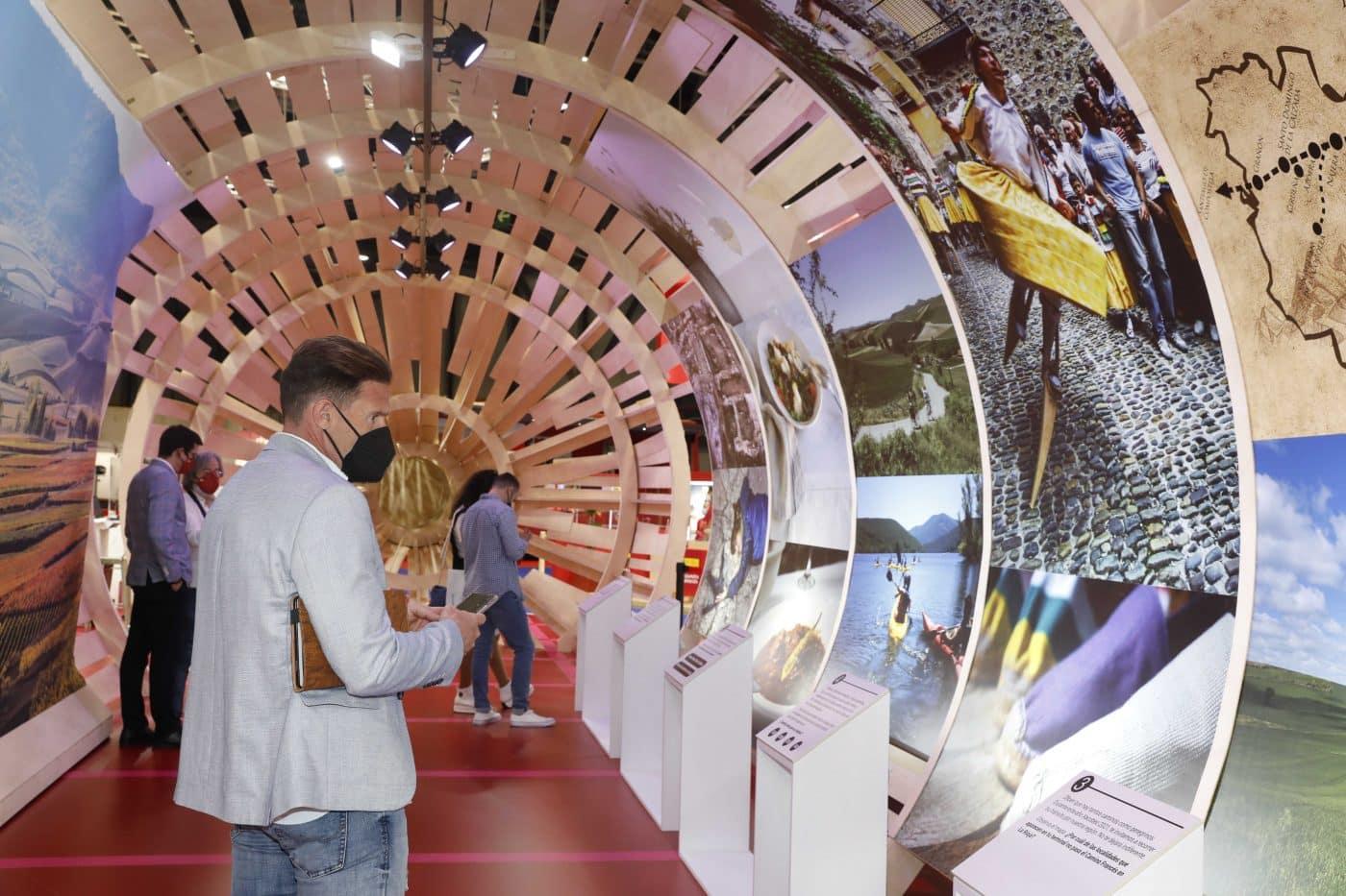 La Rioja cierra FITUR 2021 exhibiendo una amplia oferta para todos los públicos 1