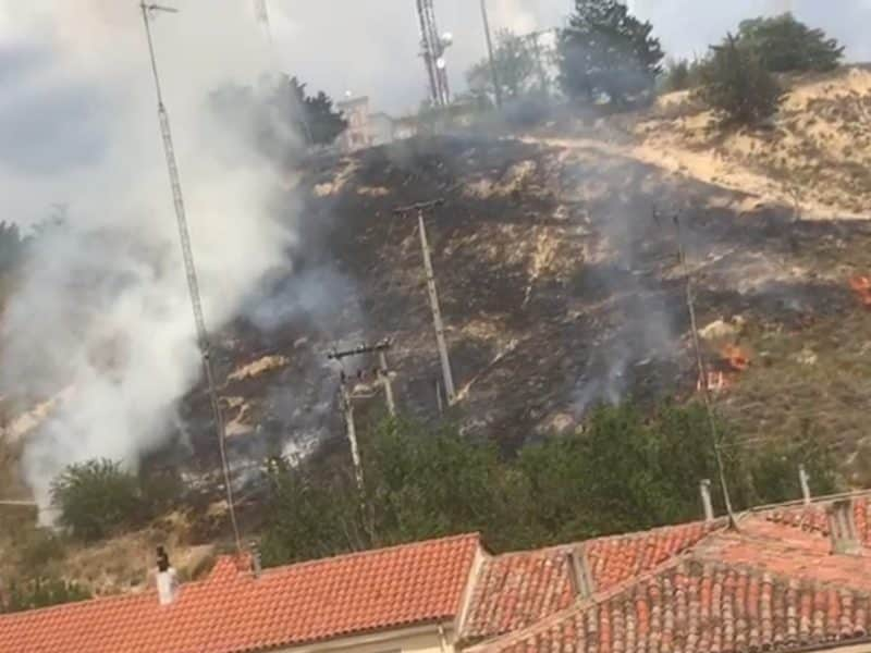 Incendio en Haro