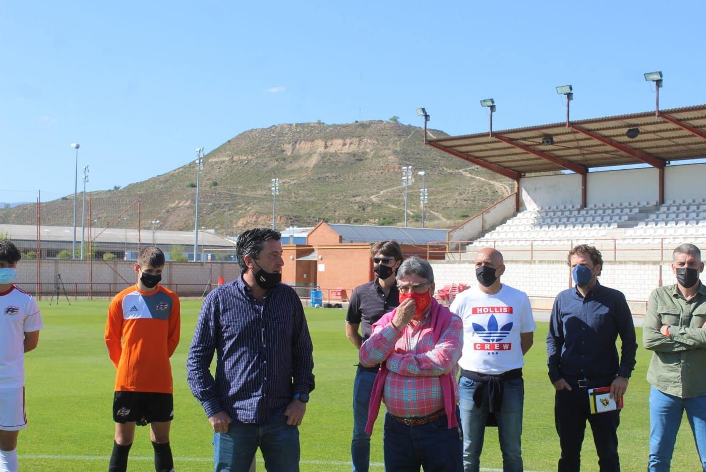 Julen Guerrero asiste al regreso de las selecciones riojanas de fútbol al césped 1