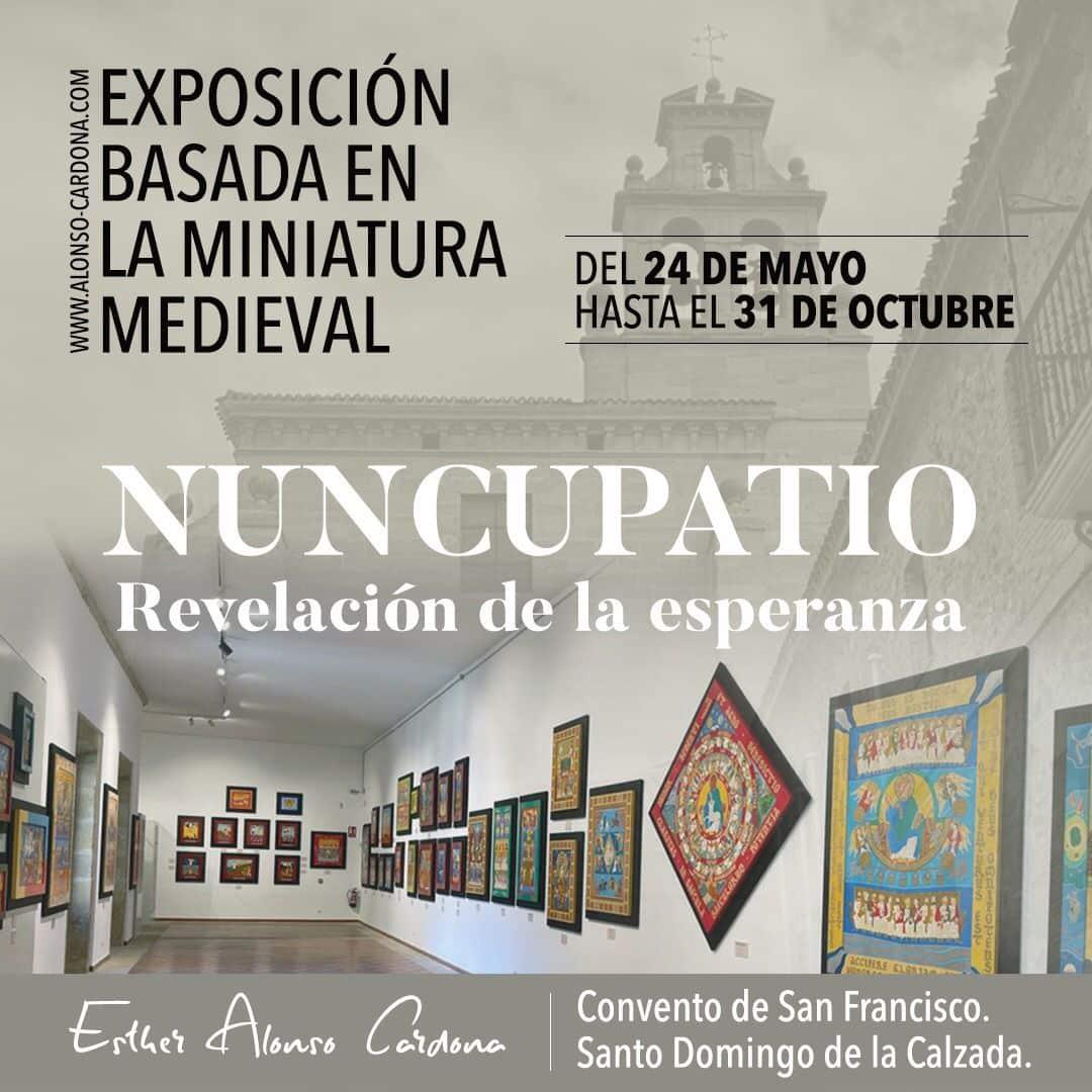La exposición 'Nuncupatio' se inaugura el lunes en Santo Domingo 1