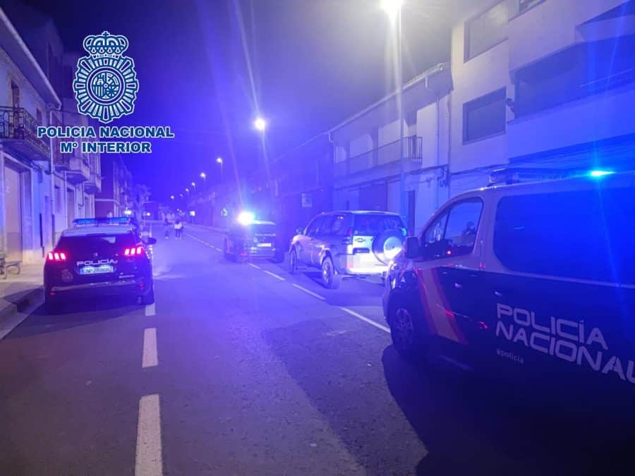 Detenido en Fuenmayor tras saltarse un control policial y darse a la fuga por las calles de Logroño 1