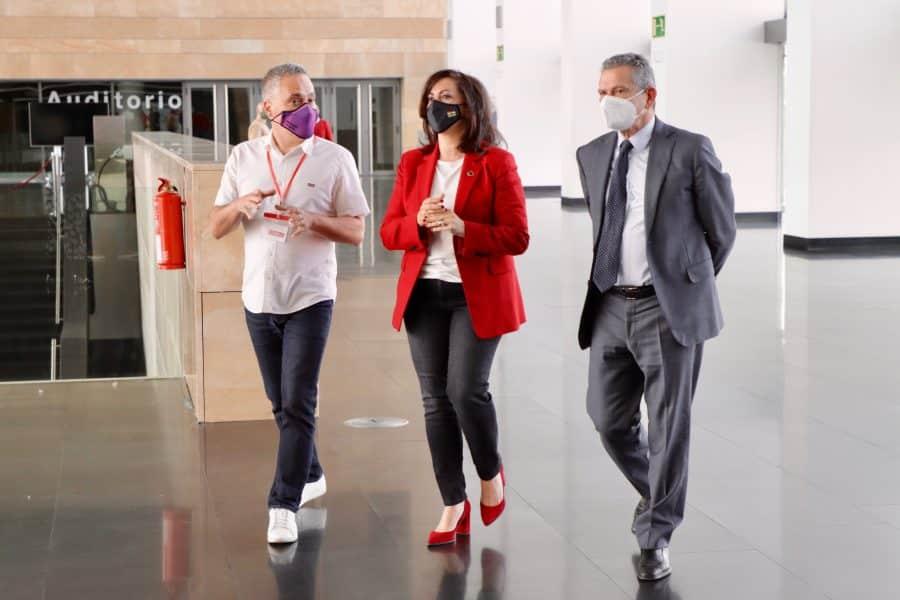"""Andreu subraya la """"necesaria relación"""" con CCOO La Rioja para sostener a las clases trabajadoras 2"""