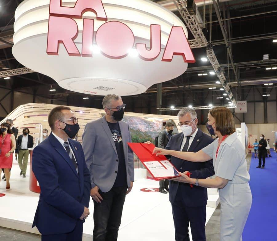 La Rioja, premio al mejor estand de FITUR 2021 4
