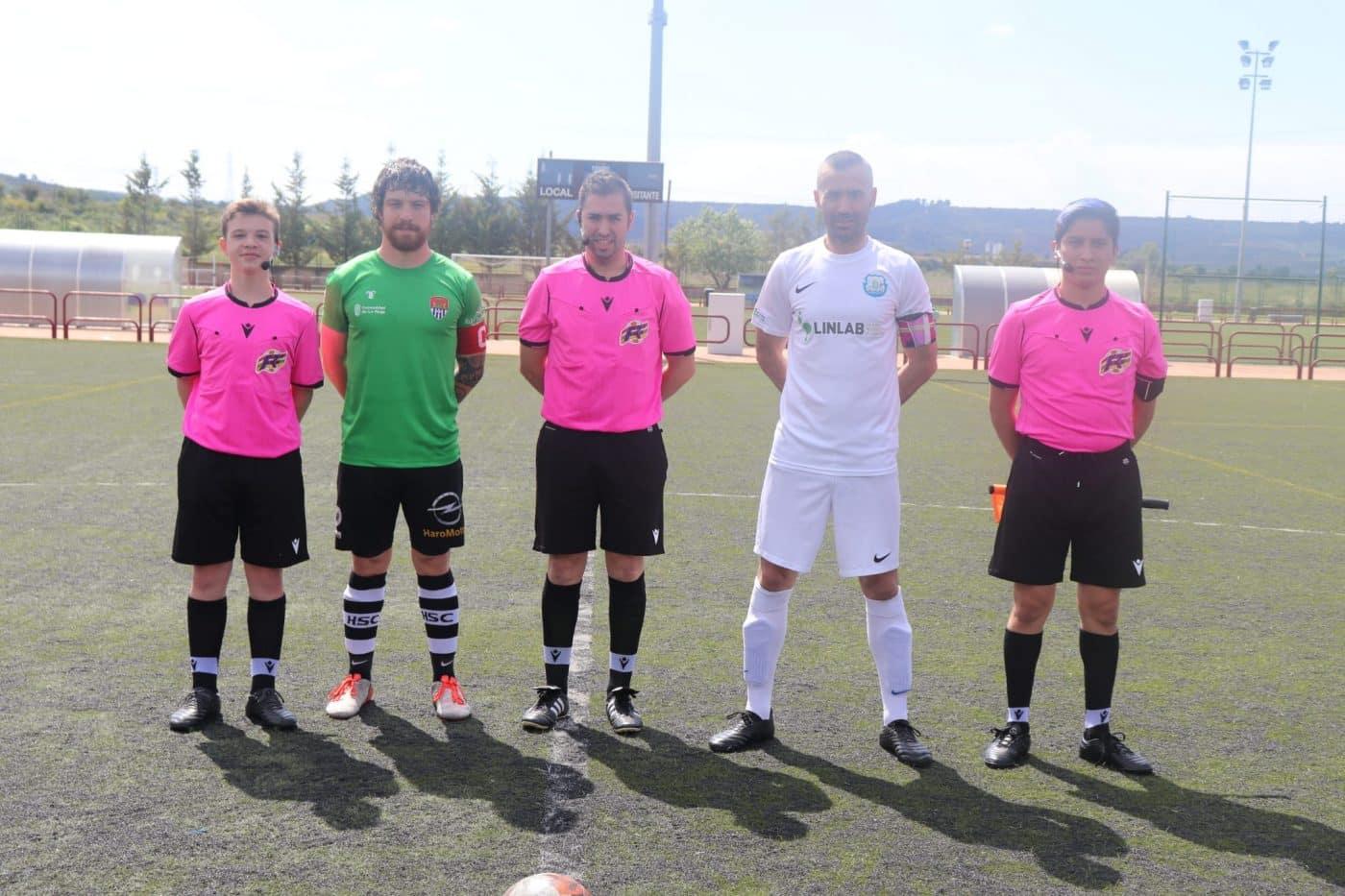 El Haro B arranca un empate del campo de la Peña Balsamaiso 1