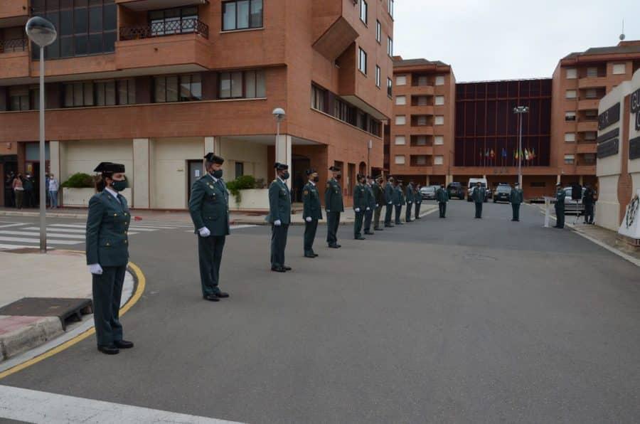 Acto simbólico en La Rioja para celebrar el 177 aniversario de la Guardia Civil 8