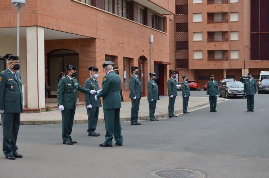Acto simbólico en La Rioja para celebrar el 177 aniversario de la Guardia Civil 7