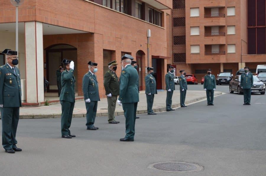 Acto simbólico en La Rioja para celebrar el 177 aniversario de la Guardia Civil 6