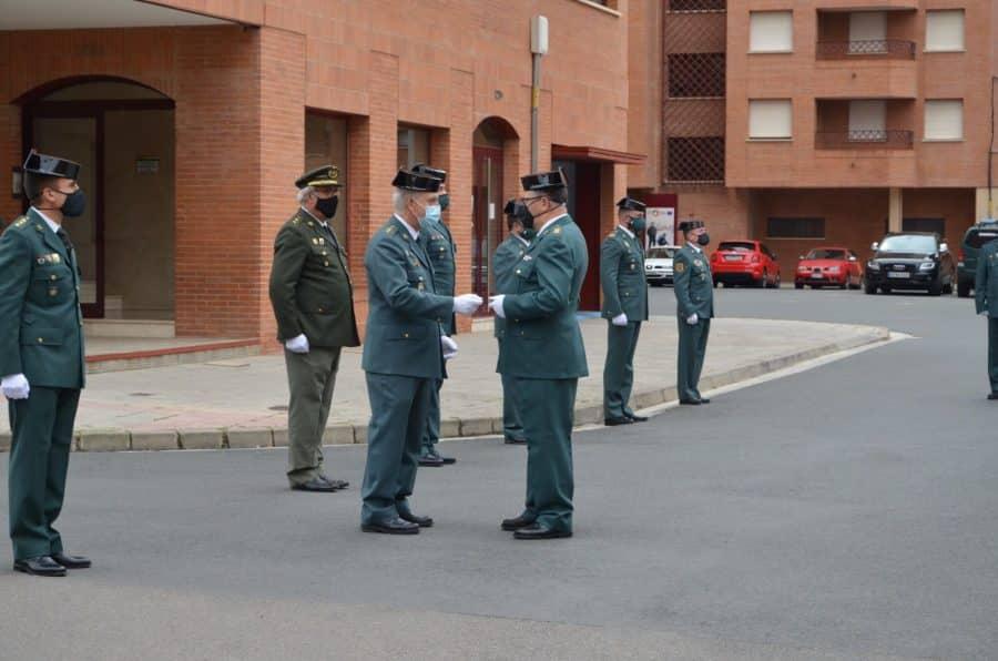 Acto simbólico en La Rioja para celebrar el 177 aniversario de la Guardia Civil 5