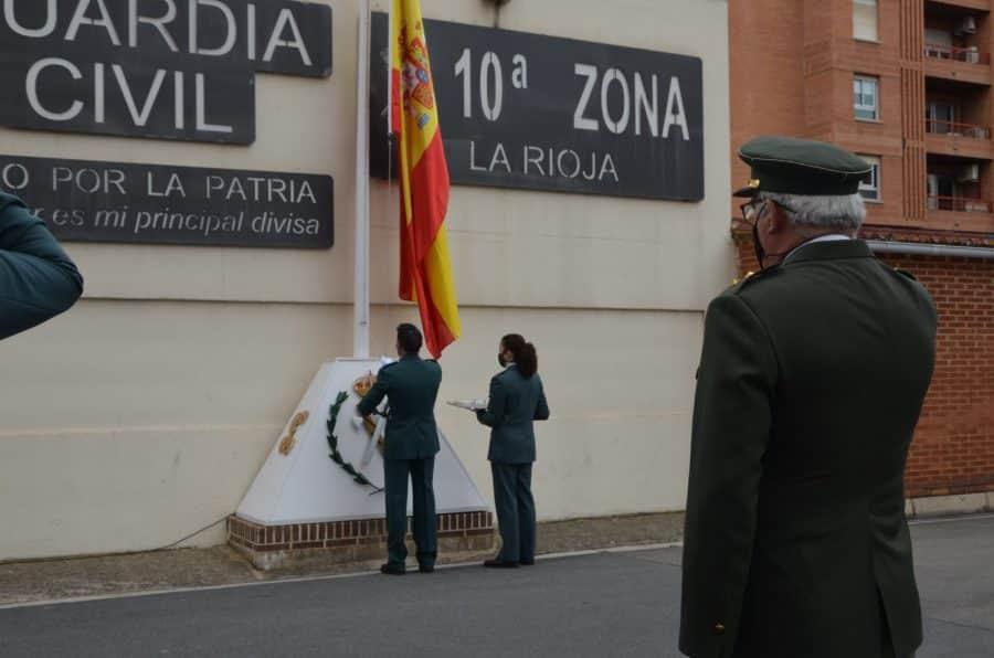 Acto simbólico en La Rioja para celebrar el 177 aniversario de la Guardia Civil 9