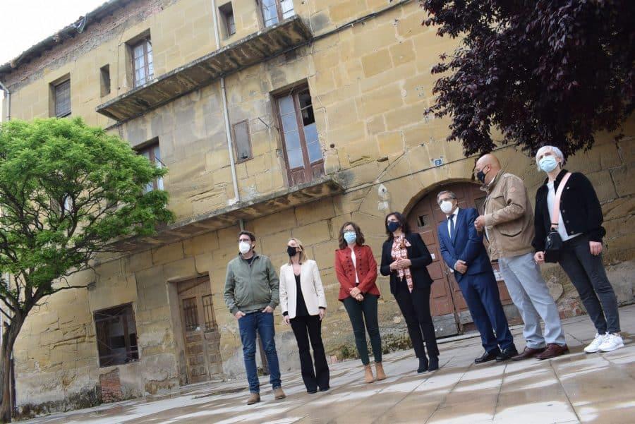 Andreu anuncia la construcción del nuevo centro de día de Haro en el antiguo hospital de Cruz Roja 2