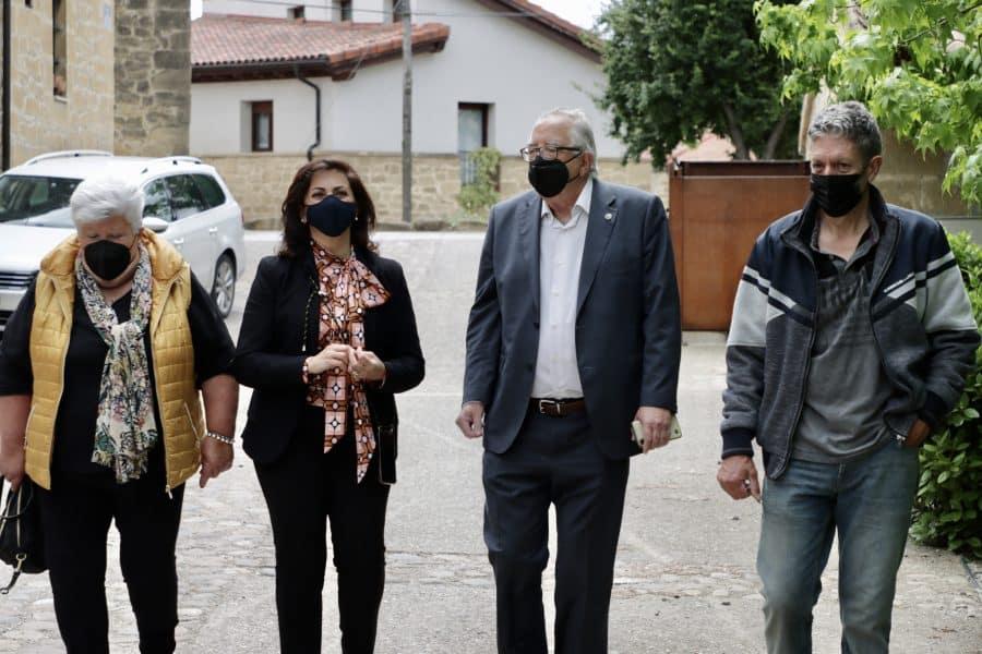 Andreu conoce de primera mano el potencial turístico de Sajazarra 2