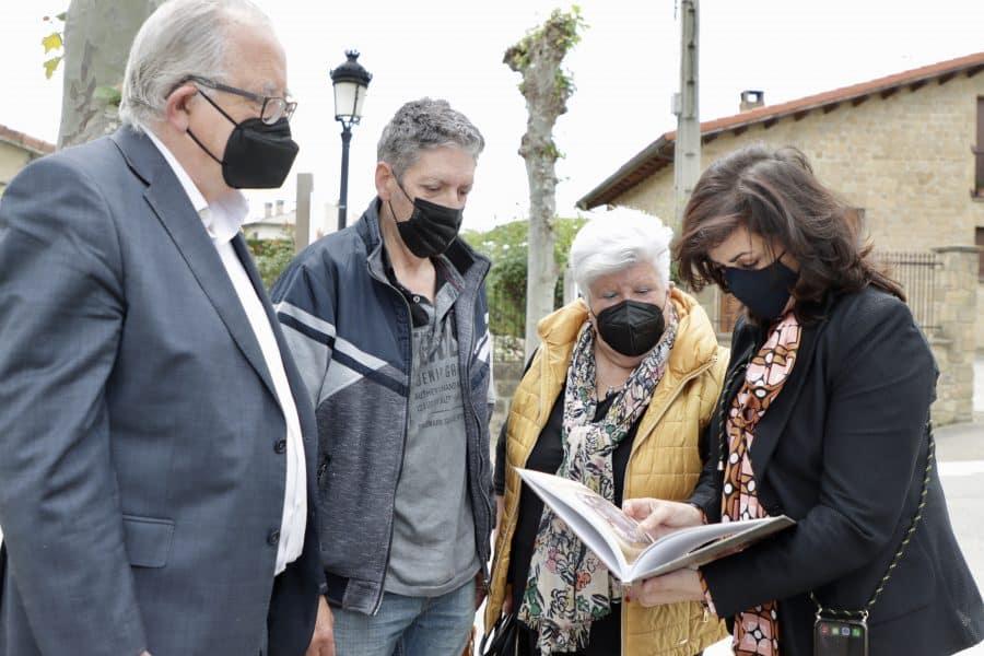 Andreu conoce de primera mano el potencial turístico de Sajazarra 1