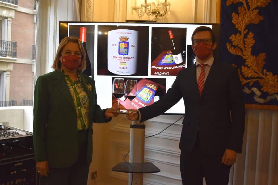 Carlos Serres, elegido Vino Institucional por el 120 Aniversario del Centro Riojano de Madrid 2