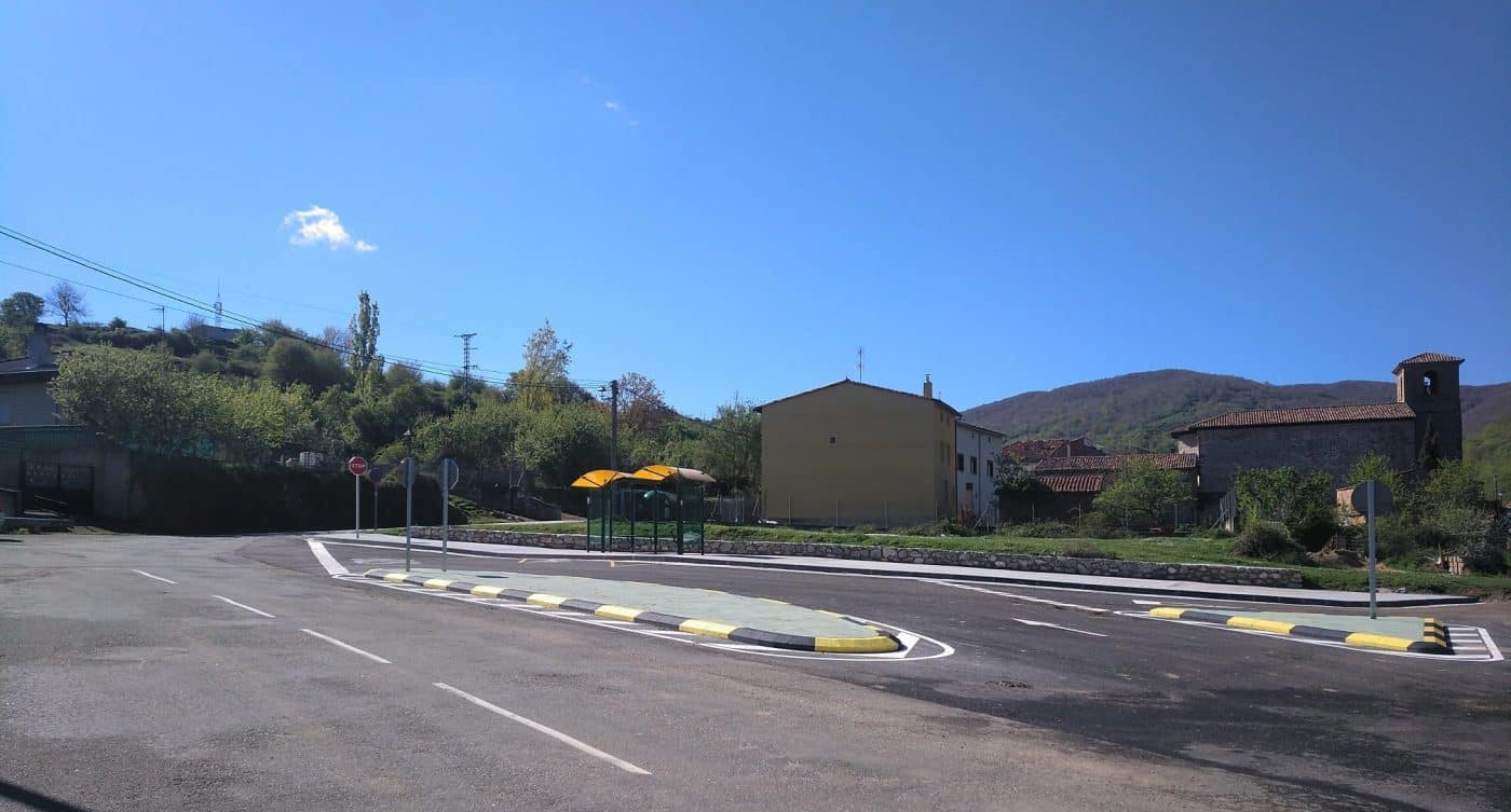 Parada de bus de Castroviejo