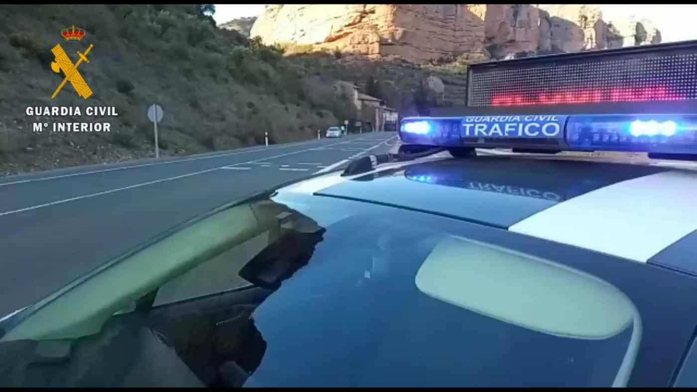 Denunciados dos conductores por múltiples infracciones en materia de tráfico 1