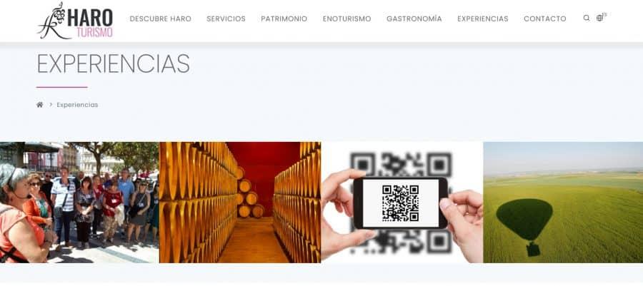 Haro lanza su nueva web de turismo 2